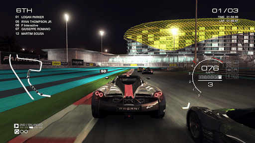 GRID Autosport – Online Multiplayer Test 1.7.2RC1-android screenshots 1