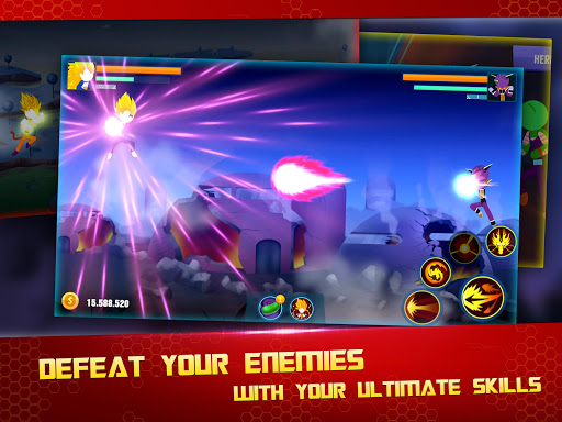 Stick Z Super Dragon Fight 2.5 screenshots 19