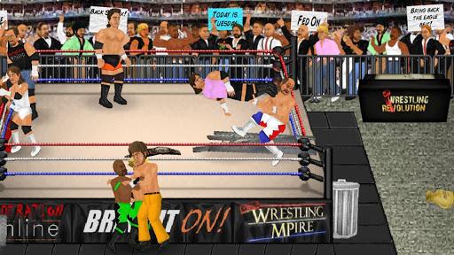 Wrestling Revolution 2.040 screenshots 8