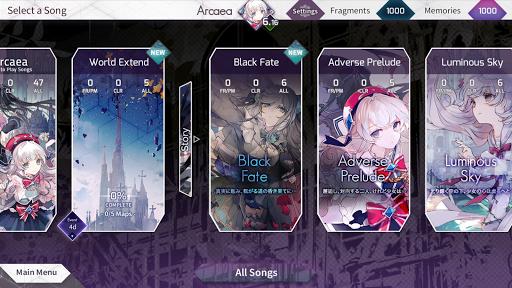 Arcaea – New Dimension Rhythm Game 3.0.5 screenshots 3
