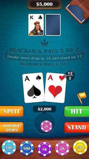 Blackjack 21 – casino card game 2.5 screenshots 12