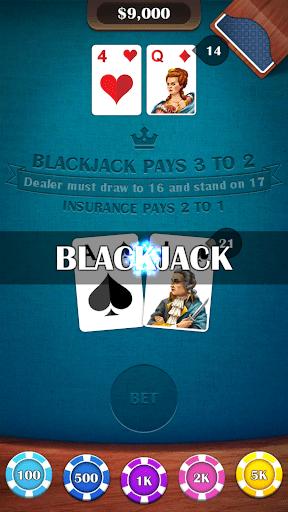 Blackjack 21 – casino card game 2.5 screenshots 8