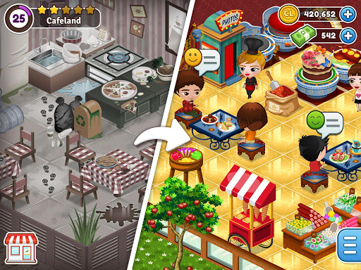 Cafeland – World Kitchen 2.1.40 screenshots 1