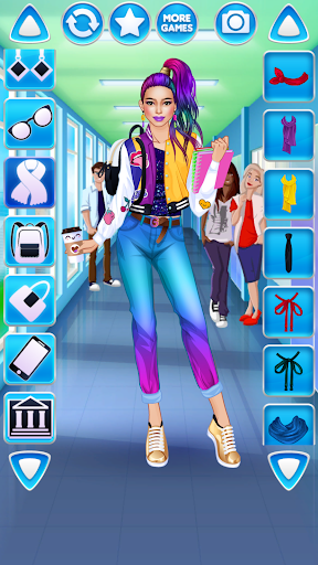 College Student Girl Dress Up 1.0.6 screenshots 23