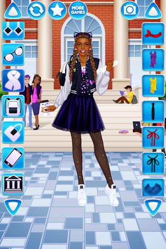 College Student Girl Dress Up 1.0.6 screenshots 3
