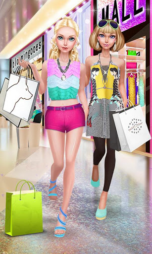 Fashion Doll Shopping Day SPA Dress-Up Games 2.5 screenshots 1