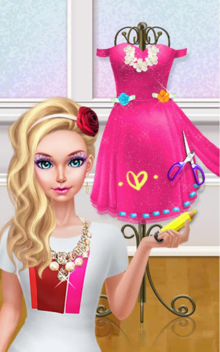 Fashion Doll Shopping Day SPA Dress-Up Games 2.5 screenshots 15