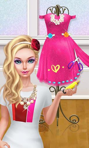 Fashion Doll Shopping Day SPA Dress-Up Games 2.5 screenshots 5