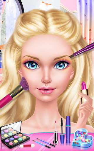 Fashion Doll Shopping Day SPA Dress-Up Games 2.5 screenshots 8