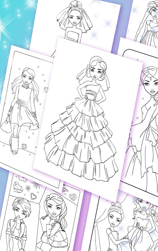 Girls Coloring Pages 1.18.4 screenshots 8