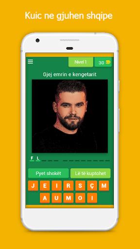 Gjej kengetarin shqiptar Loje kuic ne shqip 7.10.2z screenshots 1