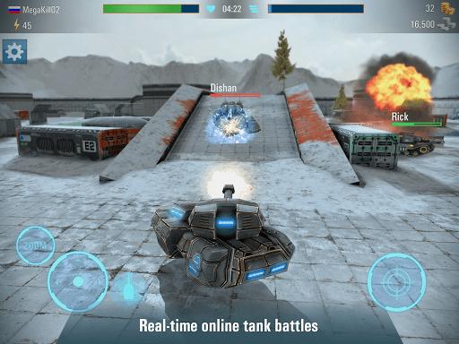 Iron Tanks Free Multiplayer Tank Shooting Games 3.04 screenshots 5