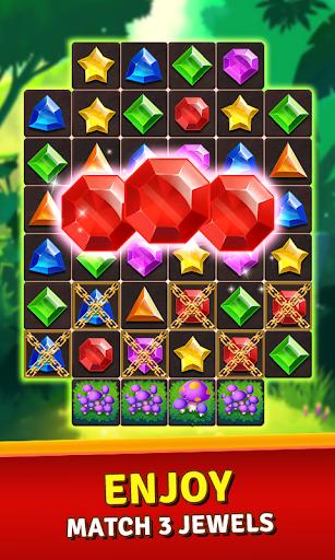 Jewels Jungle Treasure Match 3 Puzzle 1.7.0 screenshots 1