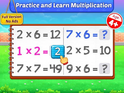 Multiplication Kids – Math Multiplication Tables 1.1.2 screenshots 9
