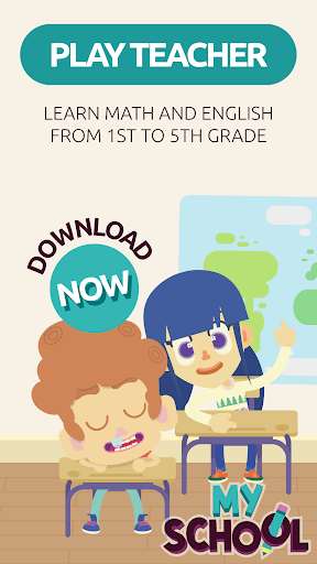 MySchool – Be the Teacher Learning Games for Kids 3.1.1 screenshots 1