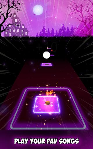 Neon Tiles Hop Color Ball Forever Dancing Ball 1.2 screenshots 7