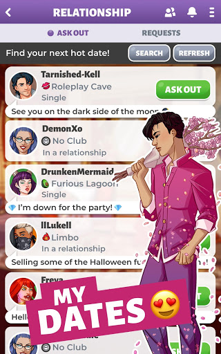 Party in my Dorm College Life Roleplay Chat Game 6.03 screenshots 3