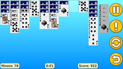Spider Solitaire 1.18 screenshots 3