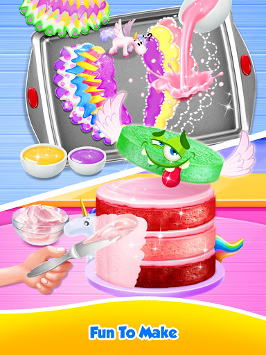 Unicorn Food – Sweet Rainbow Cake Desserts Bakery 2.8 screenshots 14