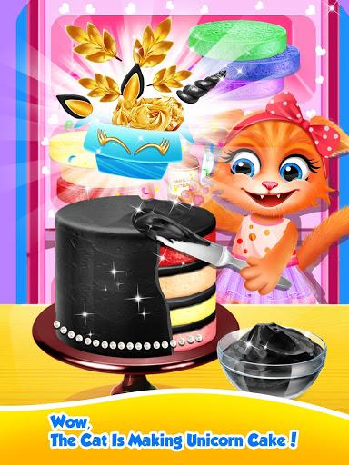 Unicorn Food – Sweet Rainbow Cake Desserts Bakery 2.8 screenshots 23