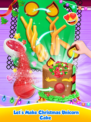 Unicorn Food – Sweet Rainbow Cake Desserts Bakery 2.8 screenshots 4