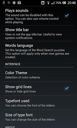 Word Search 1.2.3 screenshots 11
