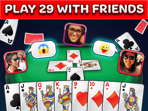 Card Game 29 – Multiplayer Pro Best 28 Twenty Nine p10000000006 screenshots 1