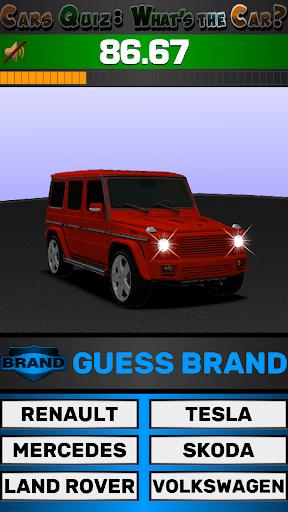 Cars Quiz 3D 2.2.1 screenshots 15