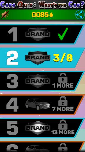 Cars Quiz 3D 2.2.1 screenshots 8