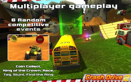 Crash Drive 2 3D racing cars 3.70 screenshots 1