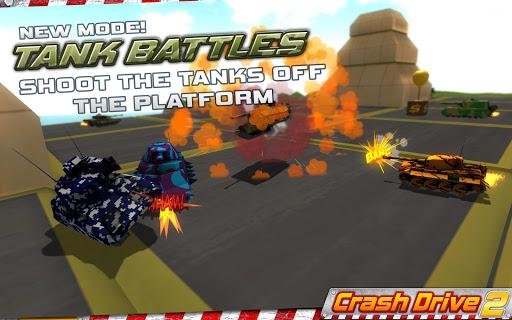 Crash Drive 2 3D racing cars 3.70 screenshots 3