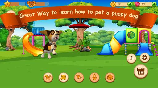 Cute Puppy Love Virtual Pet Care amp Dog Simulator 1.0.3 screenshots 1