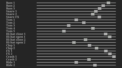 Electronic drum kit 2.07 screenshots 9