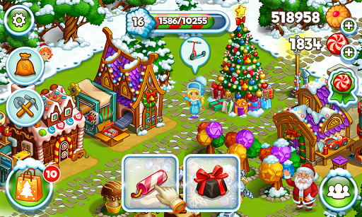 Farm Snow Happy Christmas Story With Toys amp Santa 1.74 screenshots 13