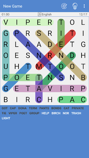 Free Word Search Puzzle – Word Find 2.4.1 screenshots 1