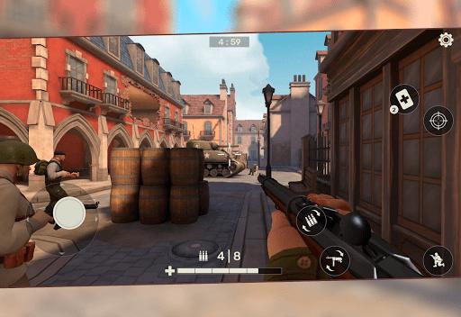 Frontline Guard WW2 Online Shooter 0.9.43 screenshots 13