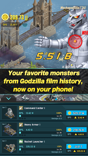 Godzilla Defense Force 2.3.4 screenshots 5