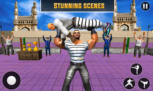 Grand Ring Battle Fight Prisoner Karate Fighting 1.0.8 screenshots 4