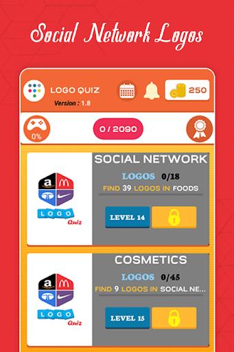 Logo Quiz Guess the Logo game Guess the Brand 2.6 screenshots 19
