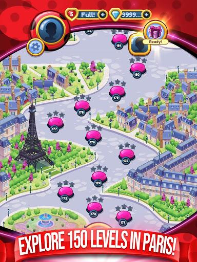 Miraculous Crush A Ladybug amp Cat Noir Match 3 3.0.1568 screenshots 15