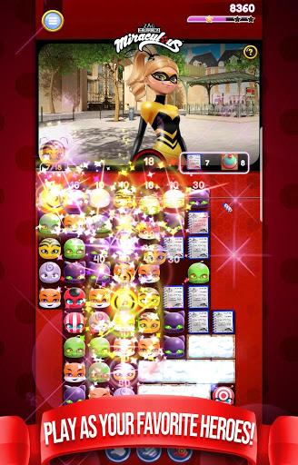 Miraculous Crush A Ladybug amp Cat Noir Match 3 3.0.1568 screenshots 3