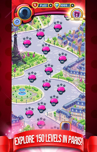 Miraculous Crush A Ladybug amp Cat Noir Match 3 3.0.1568 screenshots 4
