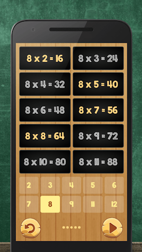 Multiplication Table Kids Math 3.9.0 screenshots 9