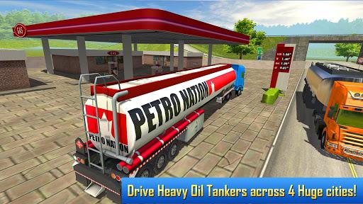 Oil Tanker Transporter Truck Simulator 2.8 screenshots 2
