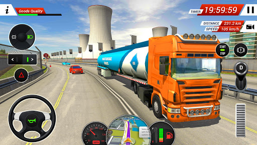 Oil Tanker Transporter Truck Simulator 2.8 screenshots 4