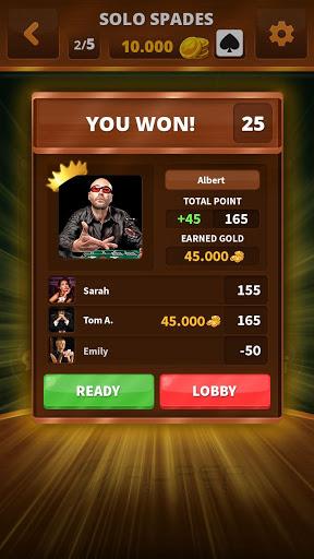 Spades -Batak HD Online 40 screenshots 2