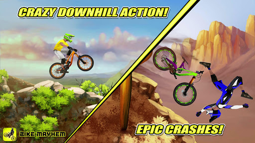 Bike Mayhem Mountain Racing screenshots 1