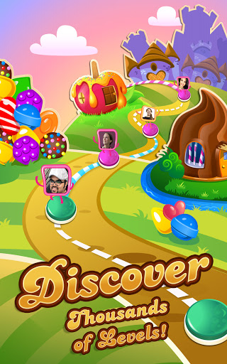 Candy Crush Saga screenshots 16