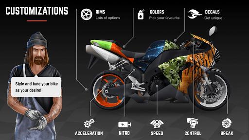 Racing Fever Moto v1.81.0 screenshots 3