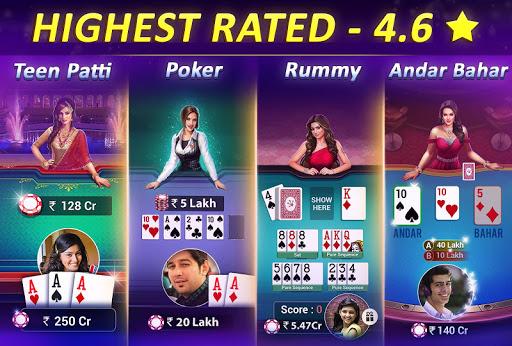 Teen Patti Gold – 3 Patti Rummy Poker amp Cricket 5.61 screenshots 3